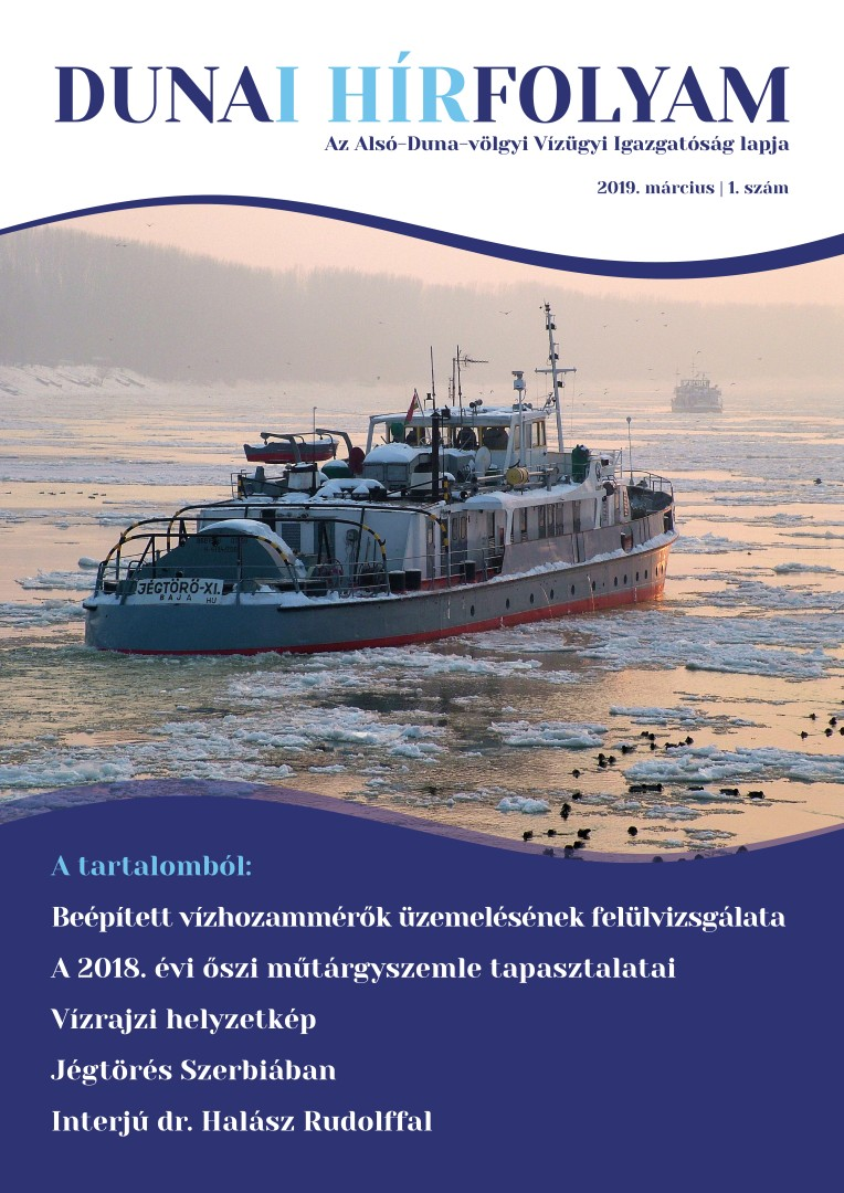 Dunai Hírfolyam - 2019. március - 1. szám