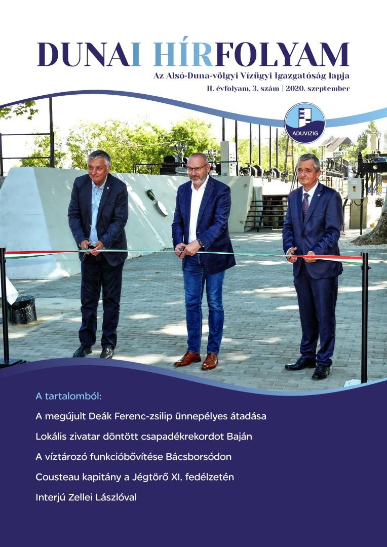 Dunai Hírfolyam - 2020. szemptember - 3. szám