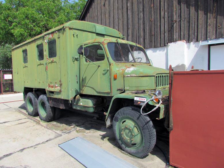 Pályázati felhívás gépjármű értékesítésére – Praga V3S