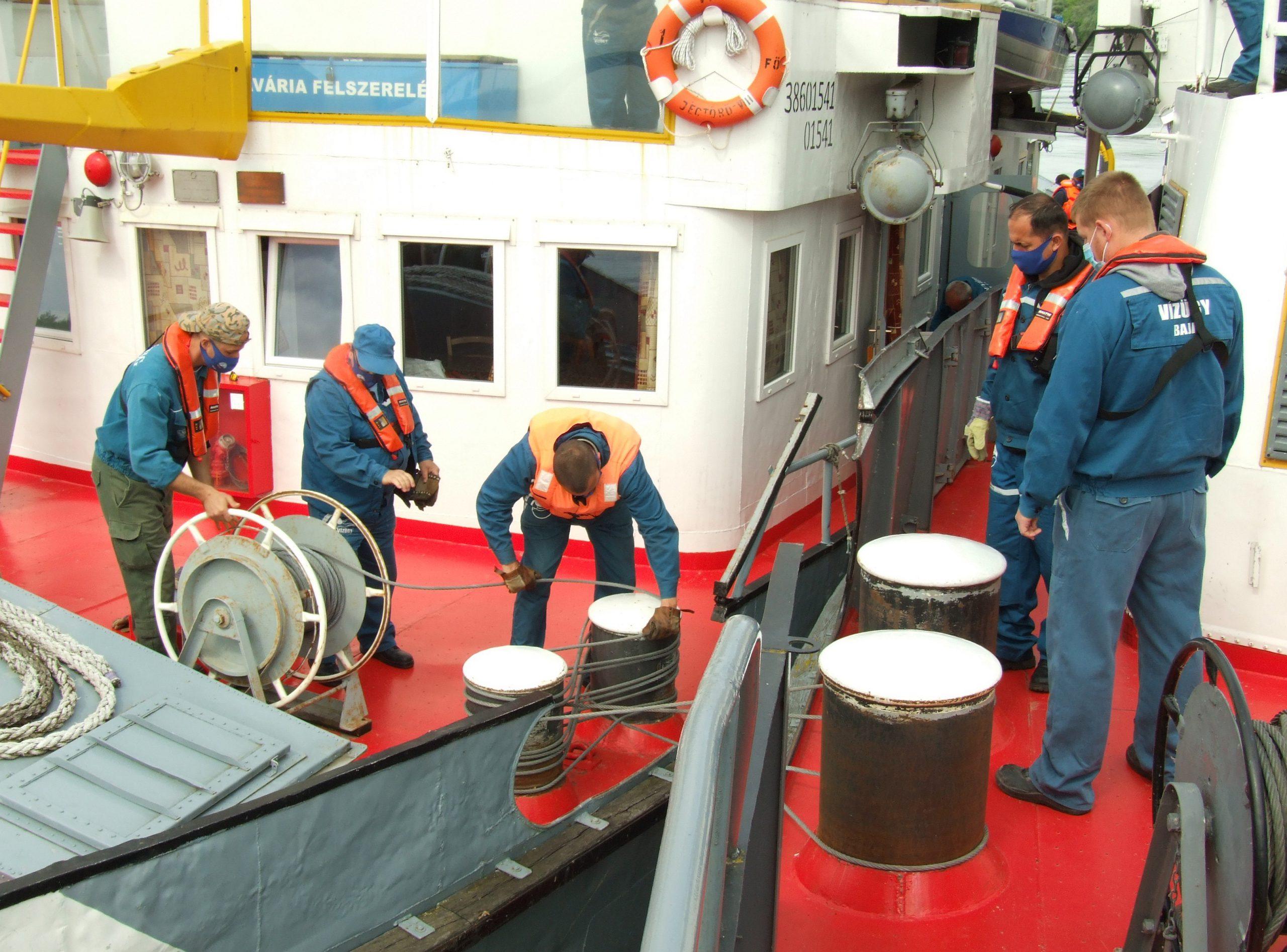 Hajós Szolgálat elméleti és gyakorlati továbbképzése